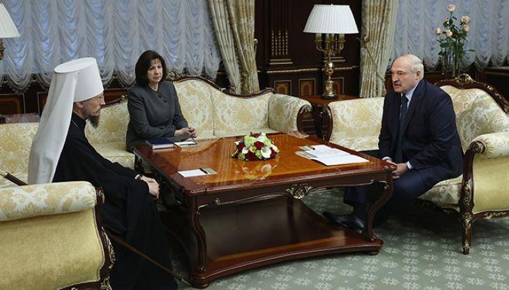 Лукашенко: Глава католиков в Беларуси ездил в Польшу и получал консультации, как разрушать страну