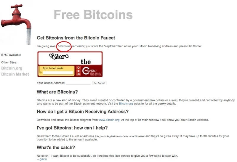 Зарабатываем биткоины с помощью биткоин-крана