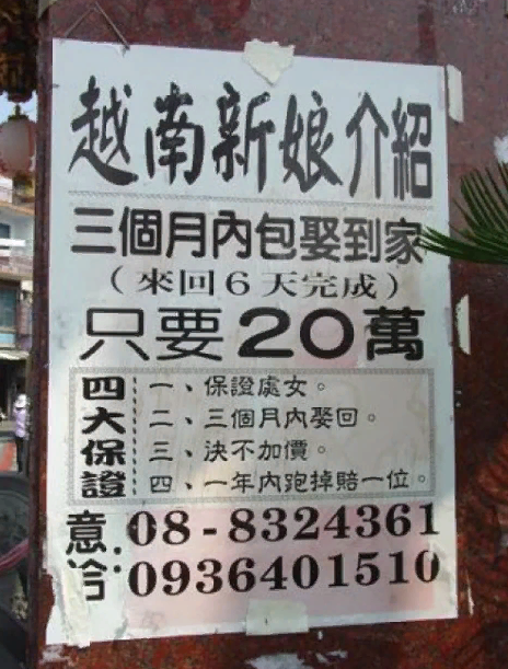 Реальна ли реклама «Купи жену из Вьетнама»?