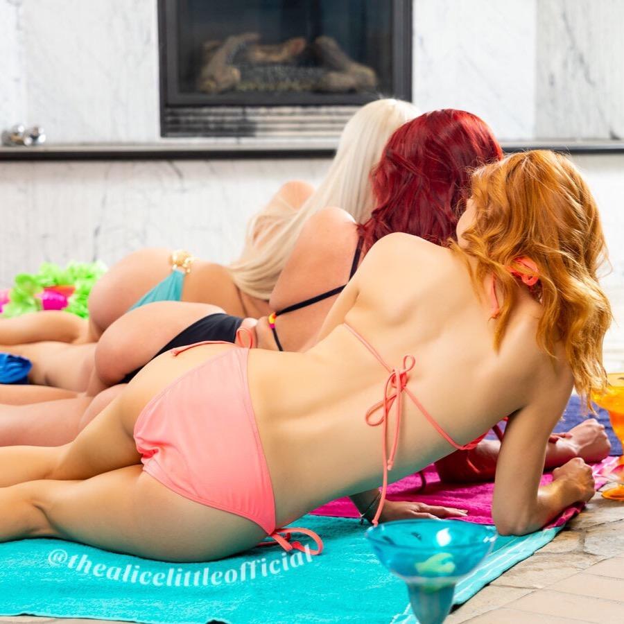 Фото Alice Little - самой дорогой проститутки в США