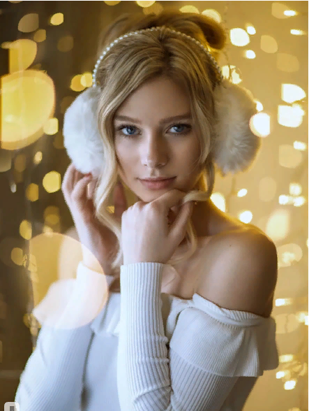 Лайфхак: как сделать потрясающие новогодние фото с помощью гирлянды