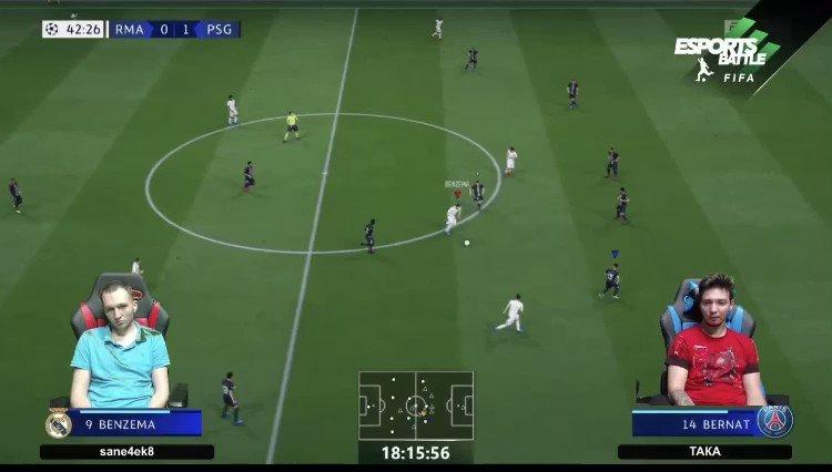 Esports Battle — новая киберспортивная лига по FIFA