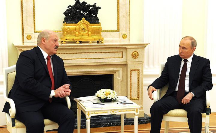 В Москве прошла встреча Лукашенко и Путина
