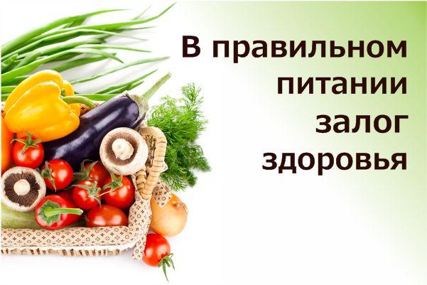 Правильное питание - залог мужской силы и крепкого здоровья