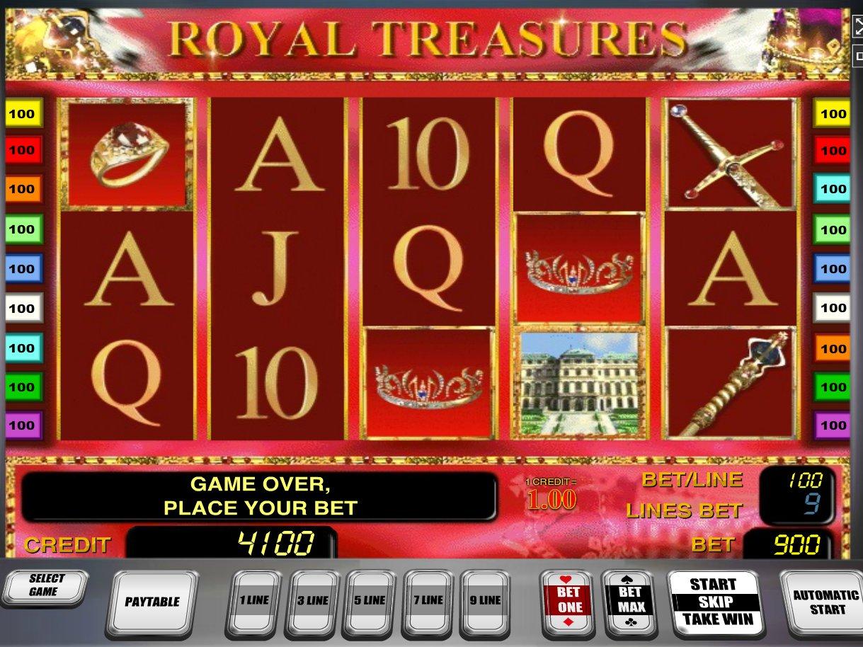 Описание слота Royal Treasures