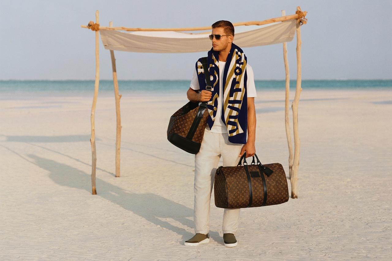 Louis Vuitton отправляет мужчин в отпуск