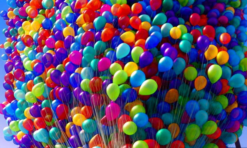 шарики для Дня Рождения