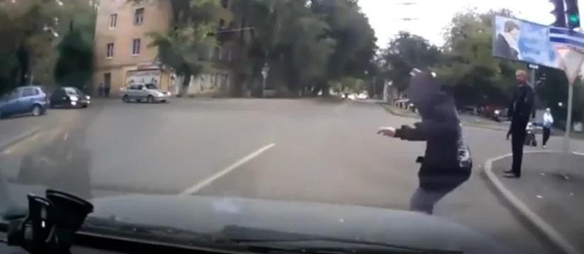 Автоподстава с использованием пешеходов
