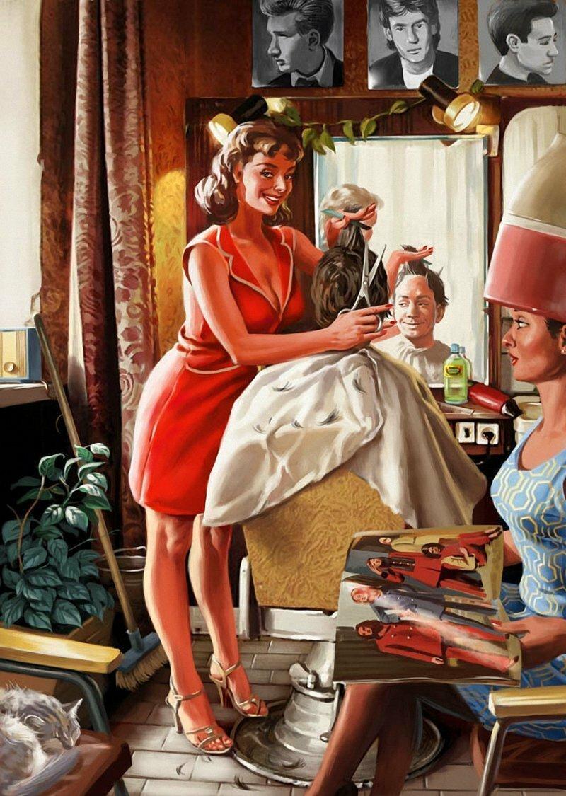 Пин-ап девушки: фото в стиле советского пин апа (50 картинок)