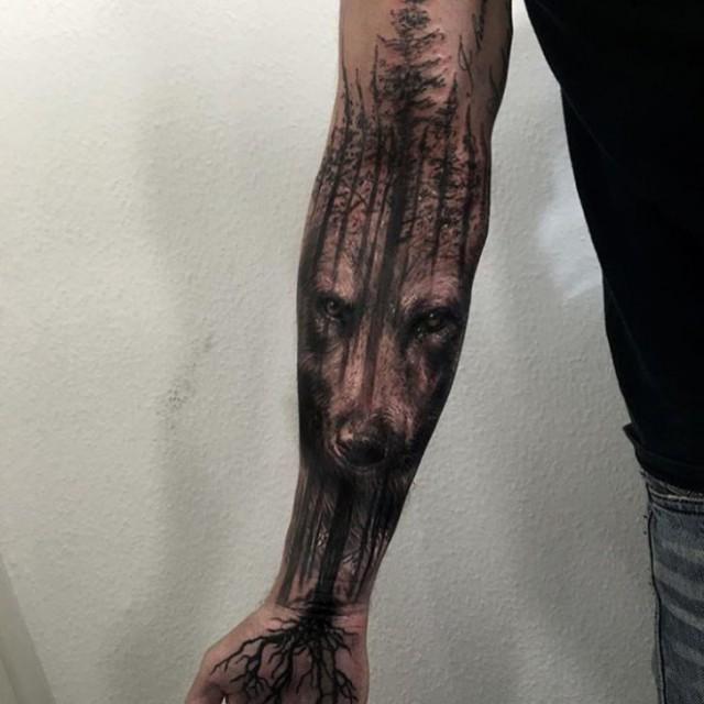 Современные татуировки на руках