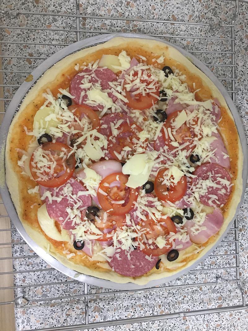 Рецепты пиццы на коржах в домашних условиях